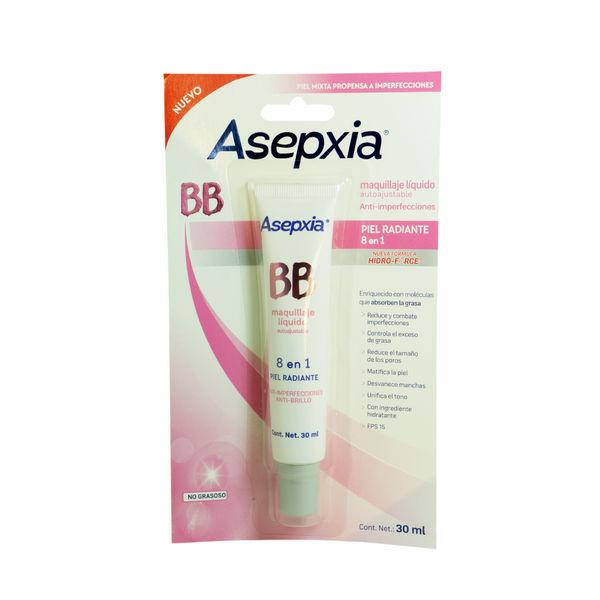 c222ea642 ASEPXIA MAQUILLAJE BB LIQUIDO AUTOAJUSTABLE 30 ML. | Preunic ...