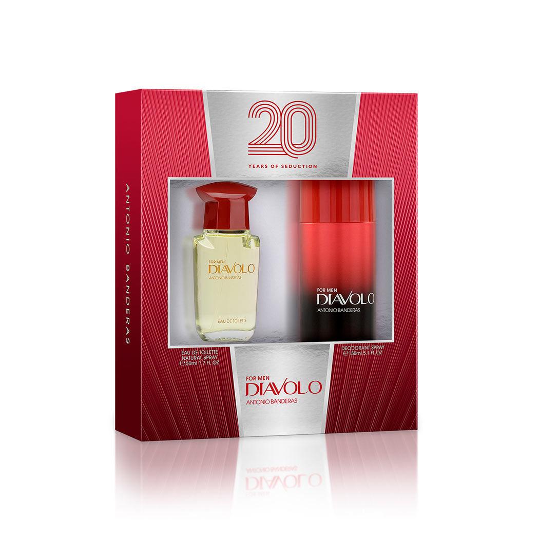 76d7cab306d1 Vista Previa · Estuche incluye fragancia Diavolo y desodorante spray